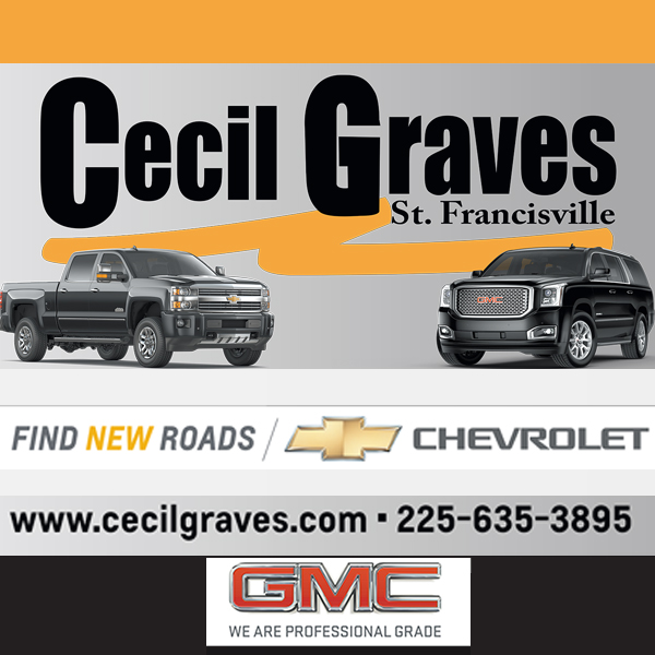 Baton Rouge Christian Life Magazine with Cecil Graves Chevrolet