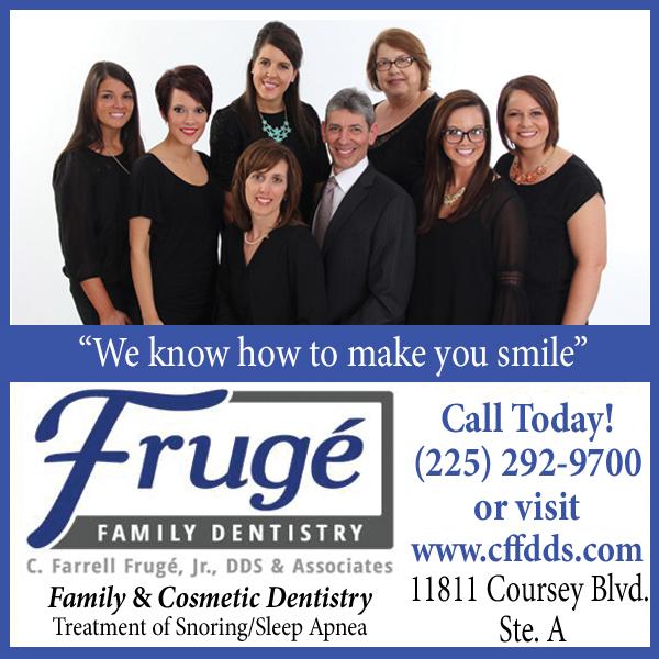 Baton Rouge Christian Life Magazine Fruge' Family Denistry