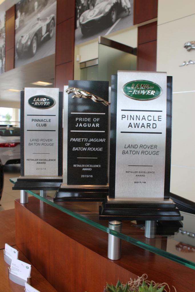 Pinnacle Jacguar Award